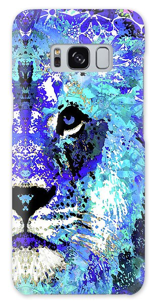 Beauty And The Beast - Lion Art - Sharon Cummings Galaxy Case by Sharon Cummings
