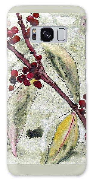 Beauty Berry Branch Galaxy Case