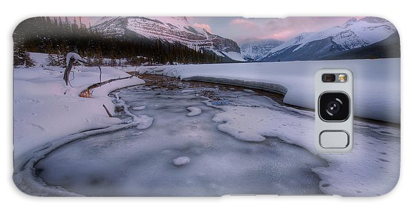 Beauty Creek, Jasper National Park Galaxy Case