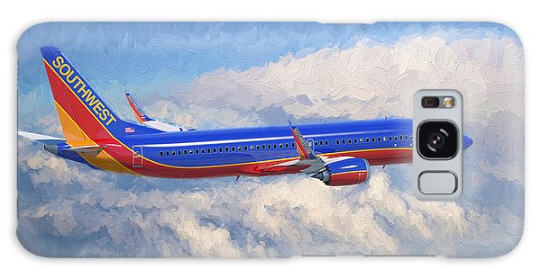Airplane Galaxy Case - Beauty In Flight by Garland Johnson