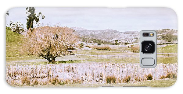 Farmland Galaxy Case - Beauty In Rustic Gretna by Jorgo Photography - Wall Art Gallery