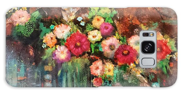 Beauty In The Cracks Galaxy Case by Frances Marino