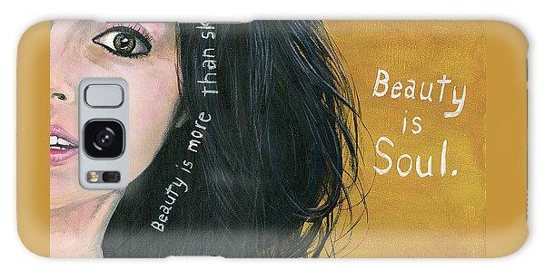 Beauty Is Soul Galaxy Case