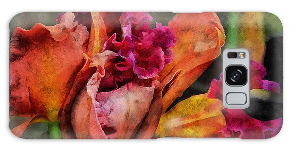 Beauty Of An Orchid Galaxy Case by Trish Tritz