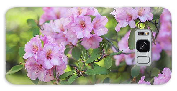 Buy Art Online Galaxy Case - Beauty Of Pink Rhododendron by Jenny Rainbow
