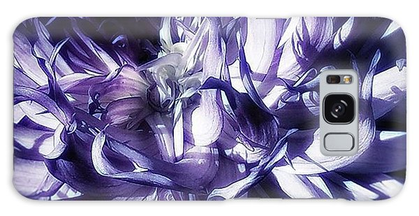 Galaxy Case featuring the photograph Beauty Out Of Chaos. No Wonder Dahlias by Mr Photojimsf