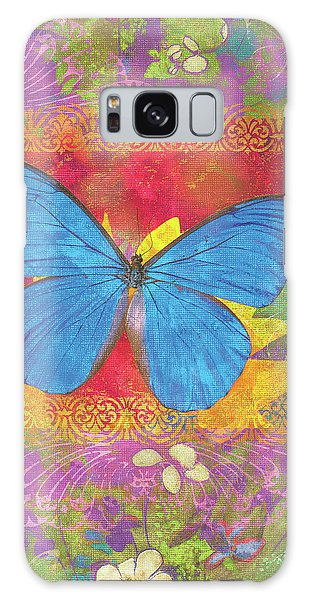 Beauty Queen Butterfly Galaxy Case