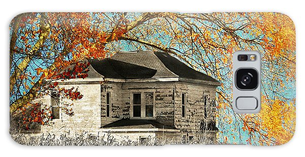 Beauty Surrounds Deserted Home Galaxy Case by Kathy M Krause