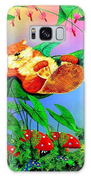 Beaver Bedtime Galaxy Case by Hanne Lore Koehler