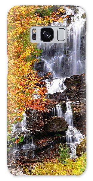 Beaver Brook Falls Galaxy Case