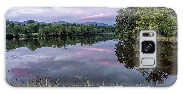 Beaver Lake Reflections Galaxy Case