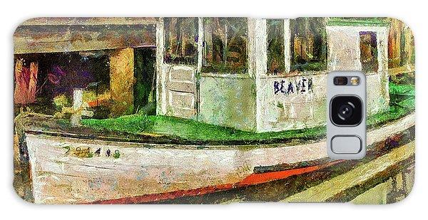 Beaver The Old Fishing Boat Galaxy Case by Thom Zehrfeld