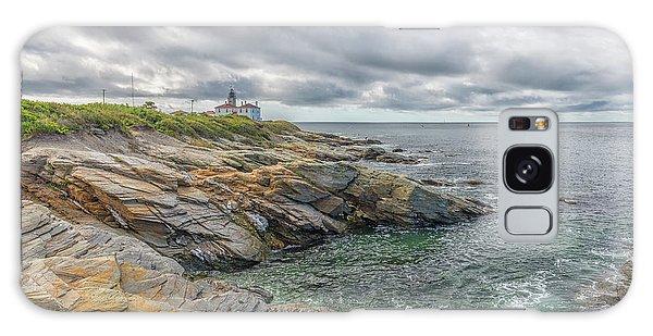 Beavertail Lighthouse On Narragansett Bay Galaxy Case
