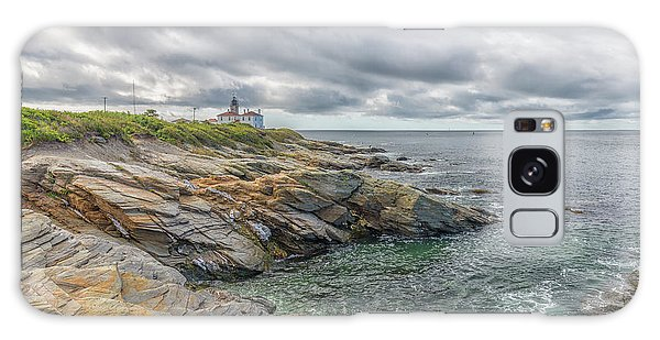 Beavertail Lighthouse On Narragansett Bay Galaxy Case