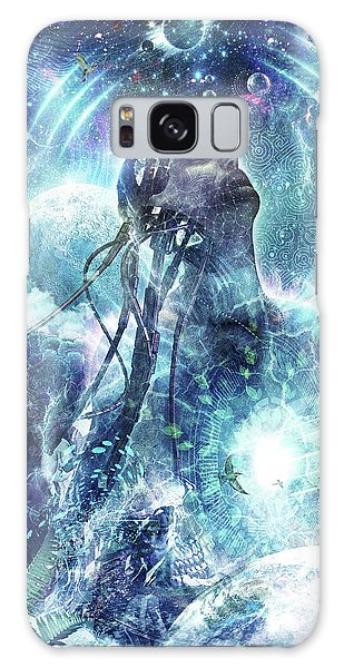 World Religion Galaxy Case - Become The Light by Cameron Gray