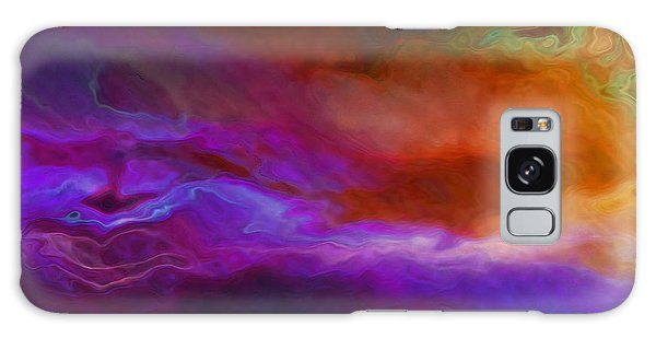 Becoming - Abstract Art - Triptych 1 Of 3 Galaxy Case