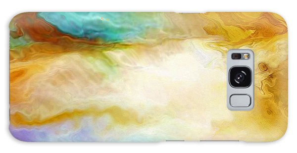 Becoming - Abstract Art - Triptych 2 Of 3 Galaxy Case