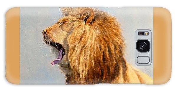 Bed Head - Lion Galaxy Case