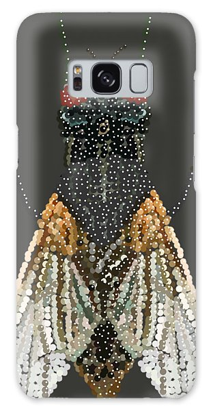 Bedazzled Housefly Transparent Background Galaxy Case