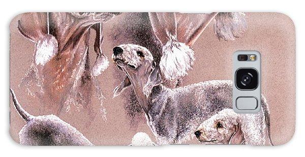 Bedlington Terrier Galaxy Case