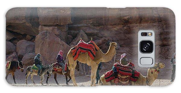 Bedouin Tribesmen, Petra Jordan Galaxy Case