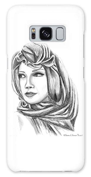 Bedouin Woman Galaxy Case
