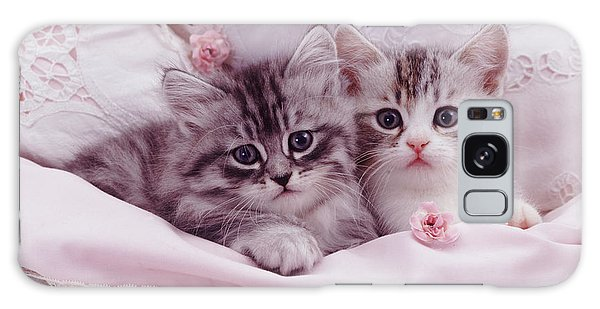 Bedtime Kitties Galaxy Case