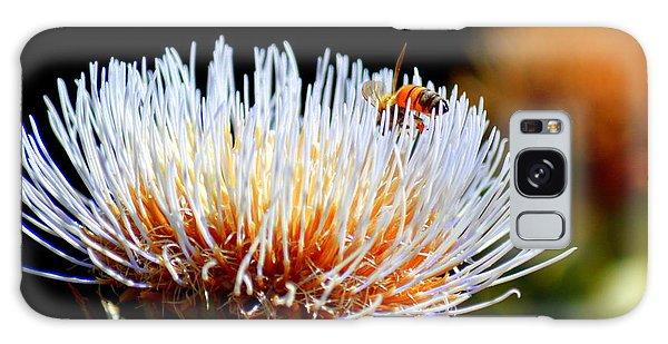 Bee And Artichoke Galaxy Case