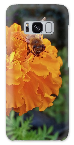 Bee And Marigold Galaxy Case