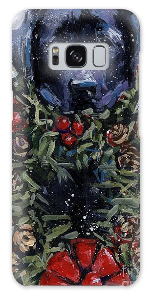 Bee Bows Galaxy Case by Molly Poole