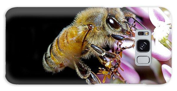 Bee Feeding Galaxy Case