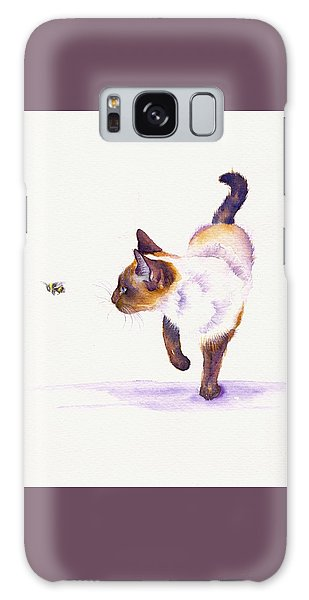 Bee Free Galaxy Case by Debra Hall