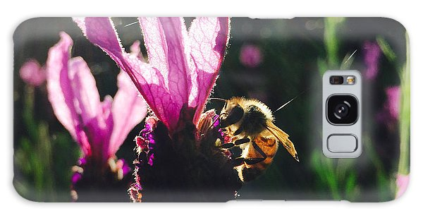 Bee Illuminated Galaxy Case