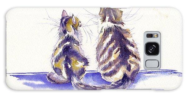 Calico Cat Galaxy Case - Bee Patient by Debra Hall