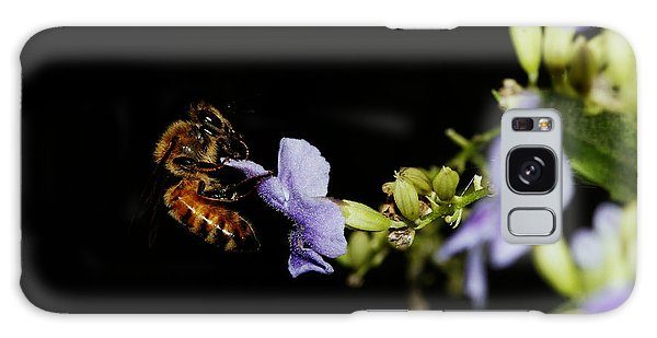 Bee Portrait Galaxy Case