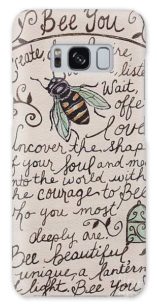Bee You Galaxy Case