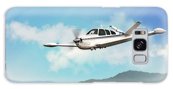 Beechcraft Bonanza V Tail Galaxy Case