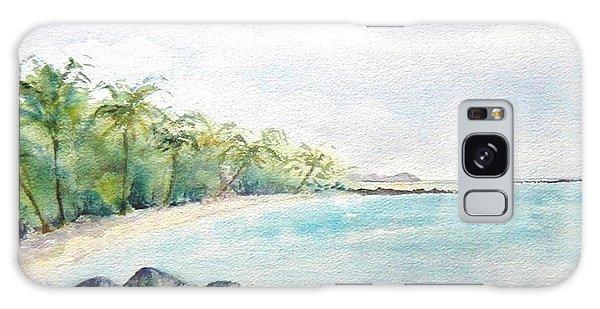Beef Island Lagoon Galaxy Case