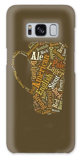 Beer Lovers Tee Galaxy Case