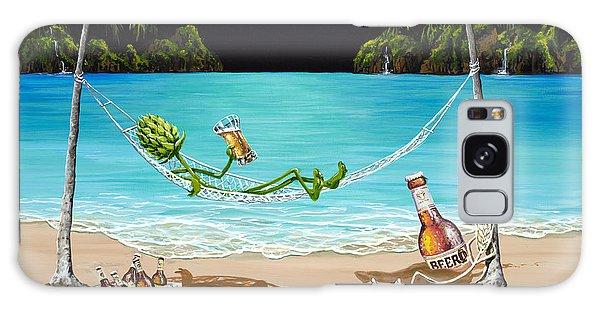 Breeze Galaxy Case - Beer Thirty by Michael Godard