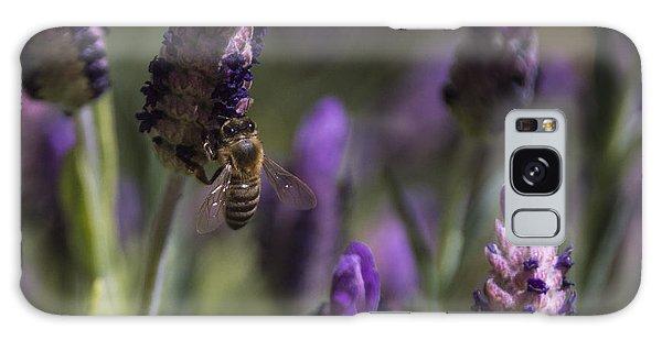 Bee's Delight Galaxy Case by Laura Pratt