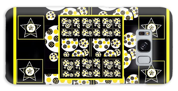 The Art Of Gandy Galaxy Case - Bees Traveling Beyond Us Overlapping by Joan Ellen Gandy