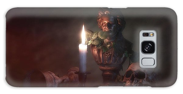 Beethoven By Candlelight Galaxy Case