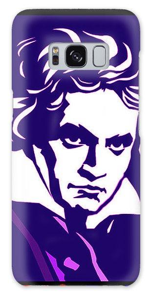 Beethoven Classique One Radio Paris  Galaxy Case