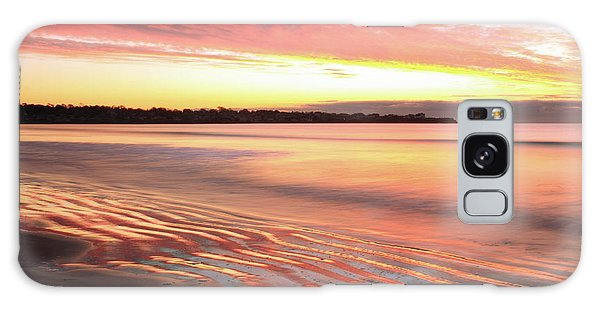 Before Sunrise At First Beach Galaxy Case by Roupen  Baker