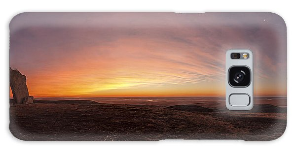 Before Sunrise At Teter Rock Galaxy Case