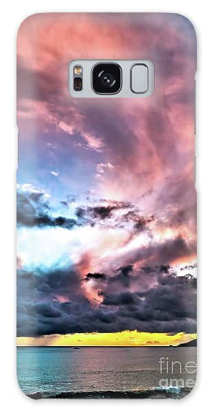 Before The Storm Avila Bay Galaxy Case by Vivian Krug Cotton