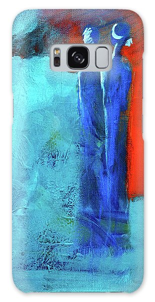 Galaxy Case featuring the painting Before The Wedding by Nancy Merkle