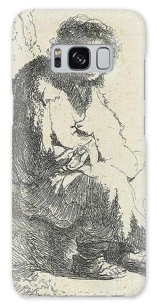 Alms Galaxy Case - Beggar Seated On A Bank by Rembrandt Harmensz van Rijn