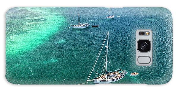 Behind Dakity Reef Galaxy Case